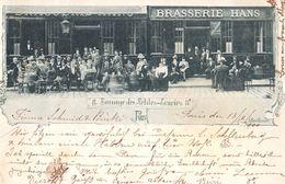 Paris - 8 Passage Des Petites écuries Brasserie Hans - Envoyée En 1900 (Léon Daudet évoque Cette Brasserie) - Arrondissement: 10