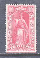 U.S.  NEWSPAPER  PR 119  Perf  12   *  Wmk 191 - Newspaper & Periodical