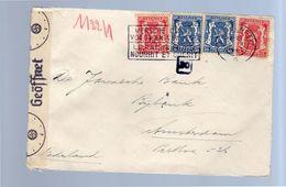 1941 Brasschaat Nazi Censor > Amsterdam (309) - Guerre 40-45