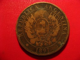 Argentine - 2 Centavos 1891 4227 - Argentina