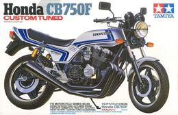 Honda CB750F Custom Tuned 1/12 ( Tamiya ) - Cars