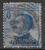 Italia Italy 1909 Estero Tripoli Di Barberia Michetti C25 Sa N.6 US - 11. Uffici Postali All'estero