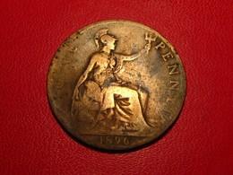 Royaume-Uni - UK - One Penny 1896 Victoria 4274 - 1816-1901 : Frappes XIX° S.