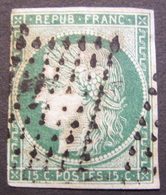 LOT R1752/32 - CERES N°2b - LOSANGE DE POINTS - Cote : 1250,00 € - 1849-1850 Ceres