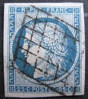LOT R1752/34 - CERES N°4 - GRILLE NOIRE - Cote : 65,00 € - 1849-1850 Ceres