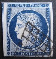 LOT R1752/35 - CERES N°4a - GRILLE NOIRE - Cote : 75,00 € - 1849-1850 Ceres
