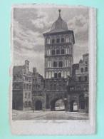 "Sweden 1912 Postcard """"Lubeck Germany Tower"""" Floda To England - King - Schweden"