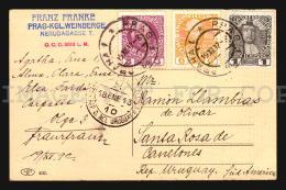 Praha Österreichisch-Ungarische - Swichov Cancel AK Ca1900 POSTCARD CPA (W4_4175) - Tschechische Republik