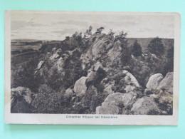 """Germany 1927 Postcard """"""""Ibbenburen- Rocks"""""""" To Holland - Allemagne"""