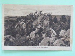 "Germany 1927 Postcard """"Ibbenburen- Rocks"""" To Holland - Germania"