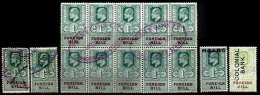 GREAT BRITAIN, Foreign Bill, Used, Ave/F - Revenue Stamps