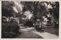 POSTCARD BRASIL BRAZIL - PASSEIO PÚBLICO - FORTALEZA - CEARÁ 1933 - Fortaleza