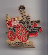 Pin's   Pompier Musée Du Sapeur Pompier Mulhouse Réf 8180 - Firemen