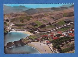 CPSM - BANYULS Sur MER - Vue Panoramique Aérienne Sur Le Préventorium Et La Plage - 1956 - RARE - Banyuls Sur Mer