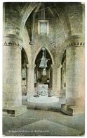 NORTHAMPTON : ST. SEPULCHRE'S CHURCH / POSTMARK - WYKE (SINGLE CIRCLE) - Northamptonshire
