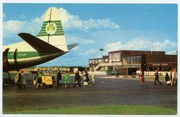 EDINBURGH : TURNHOUSE AIRPORT - AIRCRAFT ON APRON (AER LINGUS - VISCOUNT) - Midlothian/ Edinburgh
