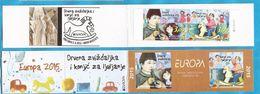 2015 EUROPA CEPT BOSNIA HERZEGOWINA MOSTAR KROATISCHE TEIL   OLD TOYS  KINDER ALTE SPIELZEUGE  BOOKLET- T - Puppen