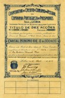 PORTUGAL, Acções & Obrigações, Ave/F - Revenue Stamps