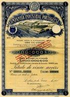 PORTUGAL, Acções & Obrigações, F/VF - Revenue Stamps