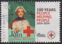 AUSTRALIA - USED 2014 70c Centenary Of Red Cross - 2010-... Elizabeth II