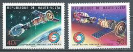 Haute-Volta YT N°359/360 Coopération Spatiale USA-URSS Neuf ** - Haute-Volta (1958-1984)