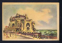 Constantza - Le Palais Culturel Architecture ROMANIA Postal Stationery 1957 Sp5151 - Monuments