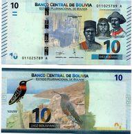 Bolivia 2018 Nueva Emision De Billetes: 10 Bolivianos. See. - Bolivia
