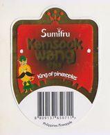 Fruit Label Pineapple - Fruits & Vegetables