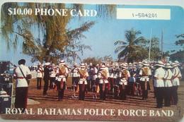 $10 Bahamas Police (number In White Box) - Bahamas