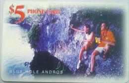 $5 Blue Hole Andros - Bahamas
