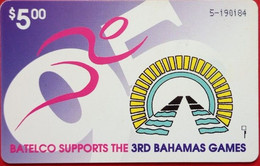 $5 3rd Bahamas Games - Bahama's