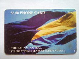 $5 Bahamian Flag - Bahamas