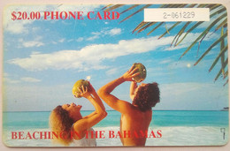 $20 Beaching In The Bahamas (number In White Box) - Bahamas