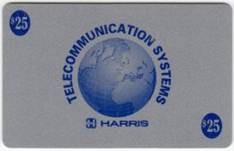 USA C-582 Prepaid Harris - Map, Globe - Used - Vereinigte Staaten