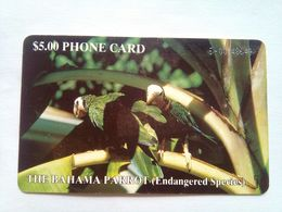 $5 Parrot (white Number No Box) - Bahamas