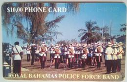 $10 Police Band Black Number No Box - Bahamas