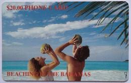 $20 Beach White Number No Box - Bahamas