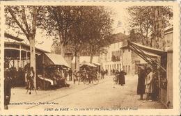 Pont-de-Vaux - Un Coin De La Fête Foraine, Place Michet Poisat - Carte Non Circulée - Pont-de-Vaux