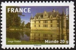 France Autoadhésif N°  330 ** Monument Château D Azay Le Rideau - - France