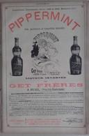 PUB 1904 - Pippermint à Revel 31; Tuiles De Marseille 13 BdR - Advertising