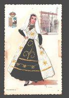 Salamanca - Embroidery / Textile Card - Bordado - 1976 - Salamanca