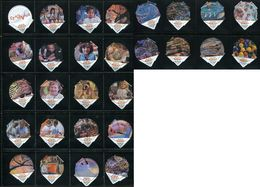 1578 B - Creaviva - Serie Complete De 28 Opercules Creme Suisse Coop - Opercules De Lait
