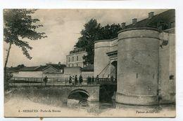 CPA  59 : BERGUES  Porte De Bierne  A  VOIR   !!!! - Bergues