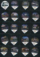 1601 B - Open Air Cinema - Serie Complete De 20 Opercules Creme Suisse Coop - Opercules De Lait