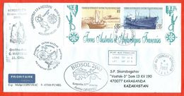 TAAF 2003.  Ships. Envelopes Past The Mail. - French Southern And Antarctic Territories (TAAF)