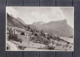 From The Road To EIKESDAL  Norvege  Lot De 2 Photos Glacees Originales De  Dim 17cm X 12 Cm - Lieux