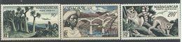 MADAGASCAR  YVERT  AEREO  75/77   MH  * - Madagascar (1889-1960)