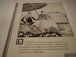 ANCIENNE PUBLICITE LUMINEUSE JOURNEE LE CAFE DU BRESIL - Posters