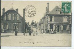 Vouzon-Place Er Rue De La Poste - France