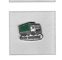 Pin's  Transports  HOCQUAUT  à GRANGES AUMONTZEY  ( 88 ), Camion  Renault ? - Transportation